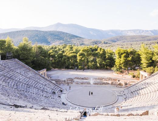 Epidauros teater, Epidavros teater, antikke steder i Grækenland, antikke steder på det græske fastland, seværdigheder i Grækenland