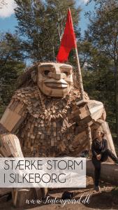 Stærke Storm Silkeborg, Trolden i Silkeborg, Silkeborg Trold, Silkeborg bad trold, Thomas Dambo trold, Thomas Dambo trold Silkeborg,