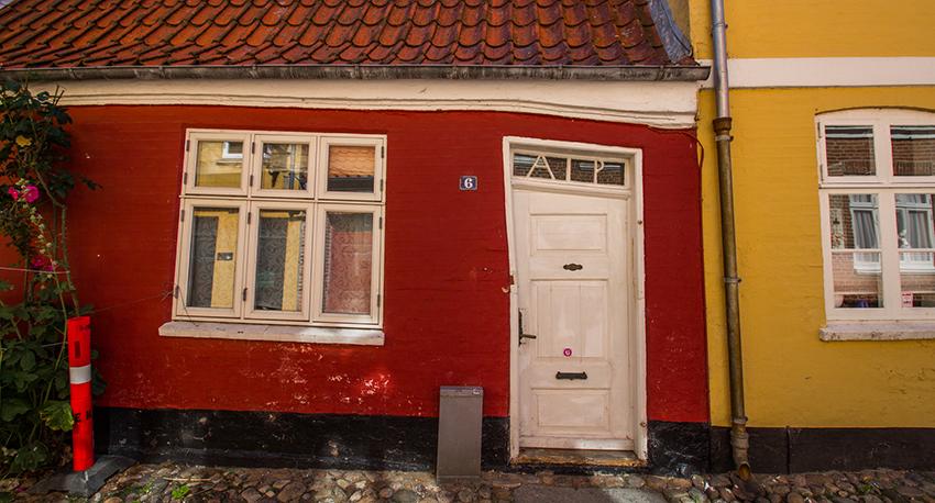 Ribe gader, fredet huse, fredet huse i Danmark, Danmarks ældste by, den ældste by i Danmark