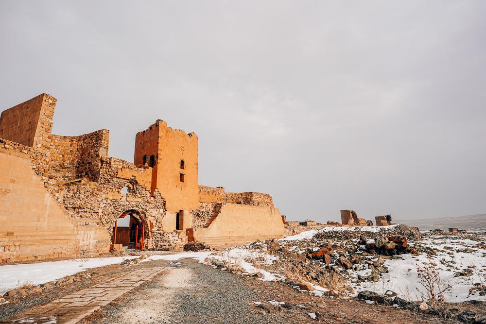 Ani, oplevelser i øst tyrkiet, Ani bymur, store bymure, museer i Tyrkiet, Officelle tyrkiske museer, bymur i Tyrkiet, Ani museum, byen med 1001 kirker