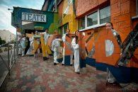17. Festiwal Szekspirowski - Akcje uliczne GDYNIA   fot. Joanna
