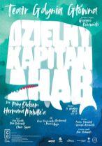 Dzielny Kapitan Ahab - PLAKAT