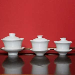 White Bone China Gaiwans