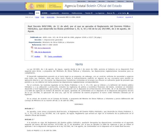 da589 boe2b1 - REAL DECRETO ESPAÑOL PERMITE LA MODIFICACION CLIMATICAARTIFICIALMENTE