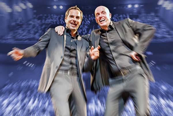 """Al Teatro Goldoni di Venezia #Inscena Carlo & Giorgio con """"I migliori danni della nostra vita"""". 16 e 17 aprile"""