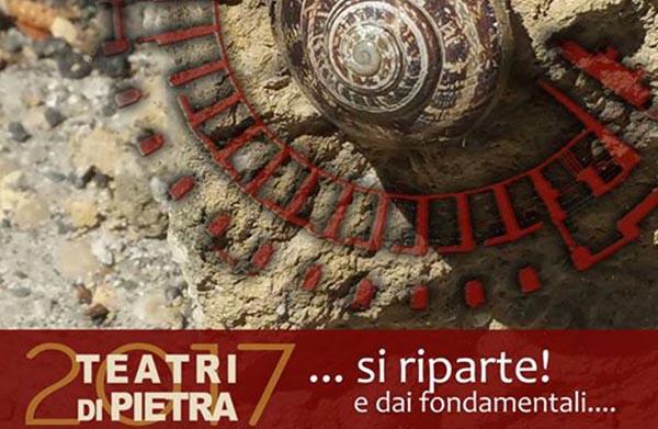 Teatri di Pietra, ecco l'edizione 2017