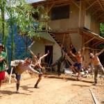 Bio-construcción sostenible en Cenit Arte Natura