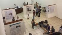 Exposição de trabalhos em forma de Banner - 10 Universidades inscritas