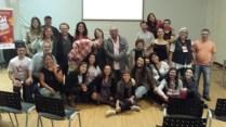 Amigos e participantes do 11º Seminário de Estudos sobre Teatro de Formas Animadas