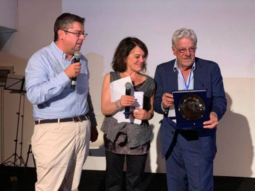 Giancarlo Giannini a Portofino. Consegna del premio riconoscimento del Comune di Portofino a Giancarlo Giannini