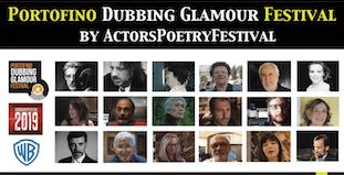 Portofino Dubbing Glamour Festival locandina
