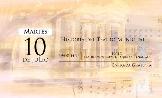 Conversatorio Historia del Teatro Municipal