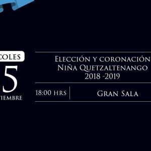 Elección Niña Quetzaltenango