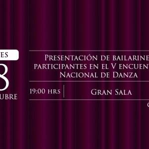 Presentación Bailarines Encuentro Nacional de Danza