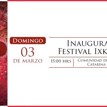 Inauguración Festival Ixkik´ 2019
