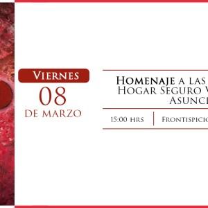 Homenaje a las 56 niñas del Hogar Seguro Virgen de la Asunción