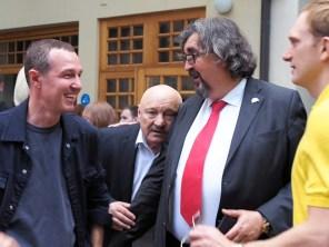 Игорь Верник, Николай Чиндяйкин, Игорь Золотовицкий и Андрей Бурковский