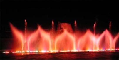 Танцующий фонтан на Кипре