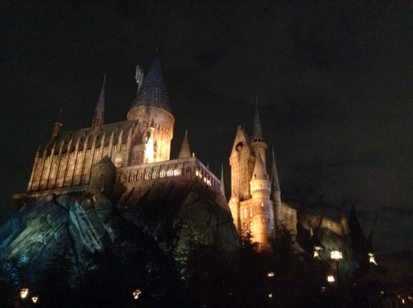 USJ: Harry Potter at night | liemzie
