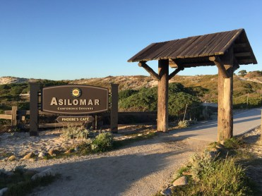 Entry to Asilomar from the beach