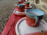 Heart Mugs & Side Plates