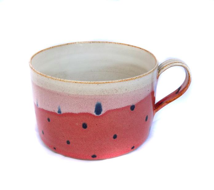 Best Pink Polka Dot Small Mug - Tea with Jud FR38