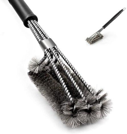 Cómo limpiar una parrilla sucia 3