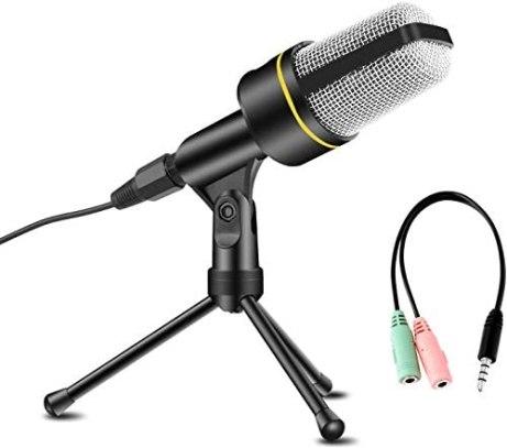 AVEDISTANTE Micrófono con Soporte para PC 1