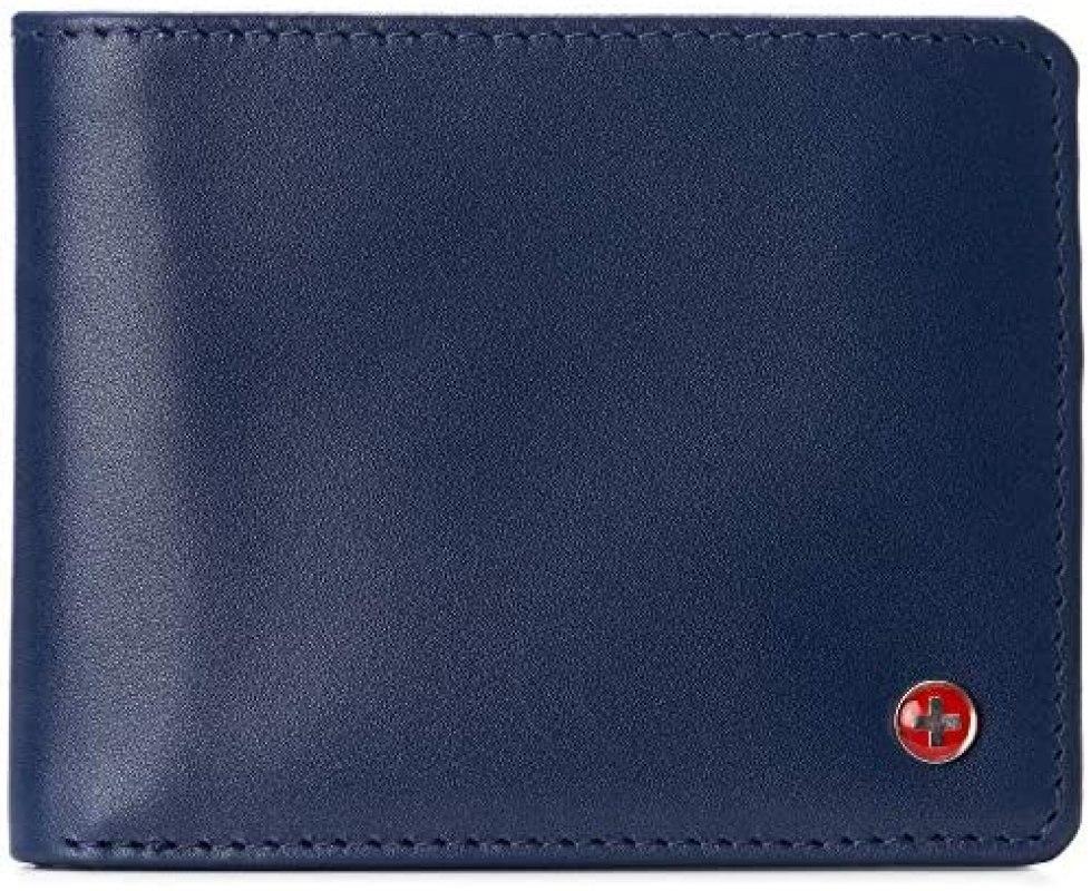 Alpine Swiss Connor RFID Billetera 1