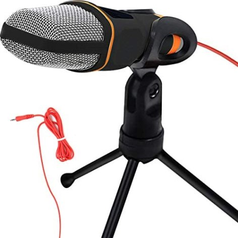 SEASKY Micrófono Condensador Semiprofesional con Tripié 1
