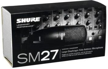 Micrófono Shure SM27-SC 2