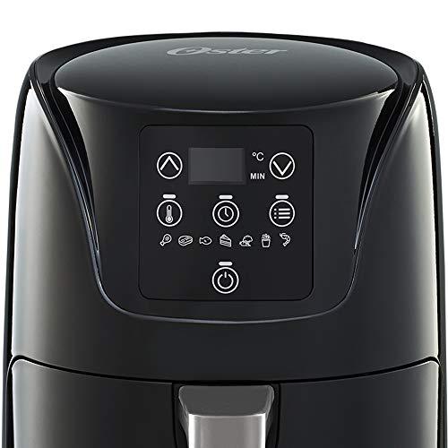 freidora de aire oster (cocina hasta 20% mas rapida, bioceramica, facil de usar) 3
