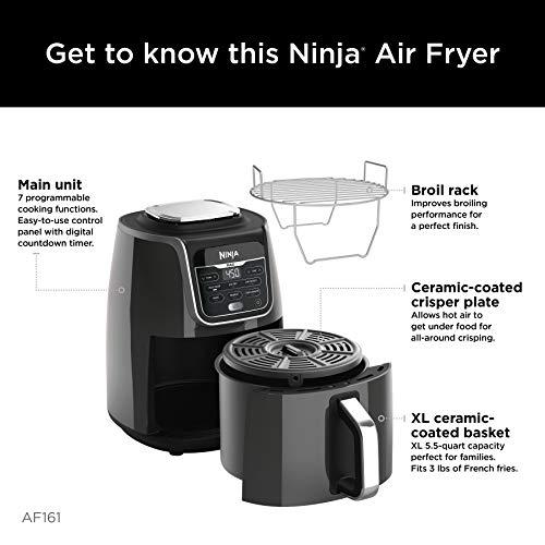 Ninja AF161 Max XL Air Fryer, 5.5 qt, grey 3