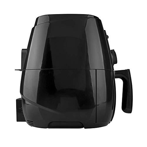 TAURUS HERMES Freidora de Aire, 4 L (4.2 Qt), Temporizador, Multifunción + Recetario Incluido, Negro, Grande 2