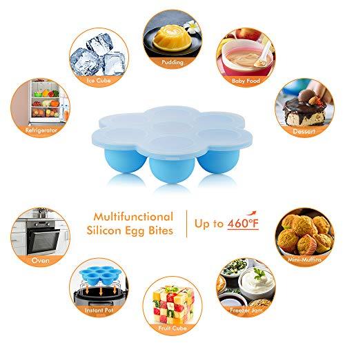 Sunix Accesorios para freidoras de Air presión de 5/6/8 cuartos de galón libro de cocina, aprobado por la FDA, sin BPA, 11 piezas 4