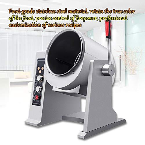 HXXXIN Máquina De Cocción Automática, Robot De Cocción Inteligente, Máquina De Arroz Frito con Arroz, Máquina De Cocción Doméstica Multifunción, Cocción Al Vapor, Freír, Guisar 4