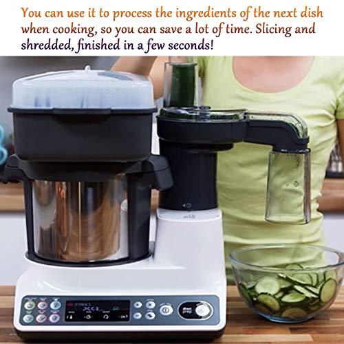 Robot De Cocina Inteligente, Máquina De Cocinar Multifunción para El Hogar Y Máquina De Fideos, Procesador De Alimentos Todo En Uno, Máquina De Arroz Frito 4
