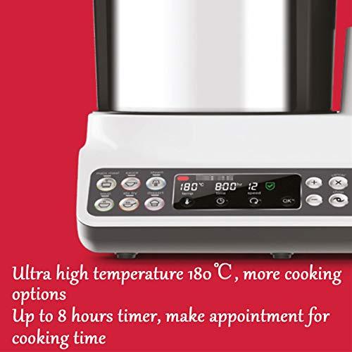 Robot De Cocina Inteligente, Máquina De Cocinar Multifunción para El Hogar Y Máquina De Fideos, Procesador De Alimentos Todo En Uno, Máquina De Arroz Frito 5