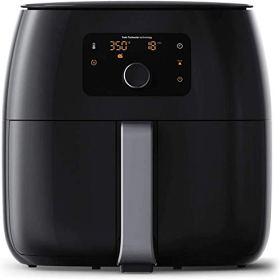 Freidora de aire sin aceite de calefacción eléctrica de 1200 W Horno de reducción de grasa saludable, sartén antiadherente, used para freír, asar a la parrilla, cook a fuego len