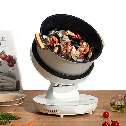 HXXXIN Máquina De Cocción Inteligente Multifuncional para Cocinar Al Vapor, Freír, Guisar Y Freír para Satisfacer Todas Las Necesidades. Máquina De Cocción Doméstica Completamente Automática 1