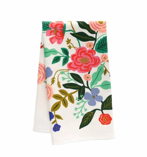 Rifle Paper tea towel