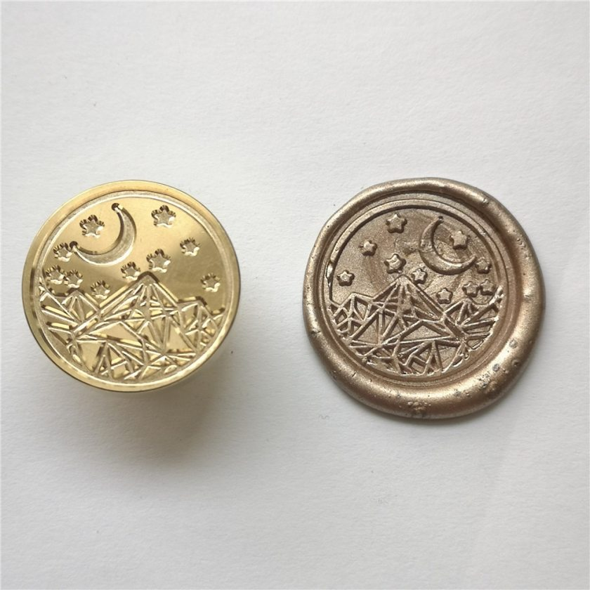 Wax Seal Stamp Head for Scrapbooking