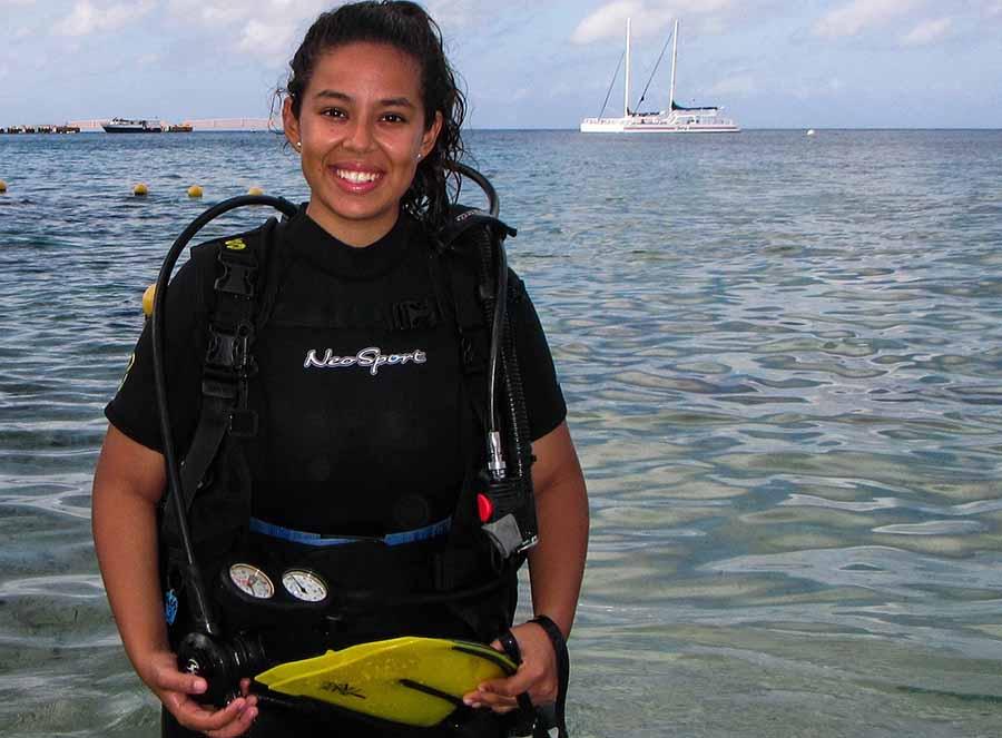 Miranda demuestra su amor por el mar con esta actividad de preservación ambiental