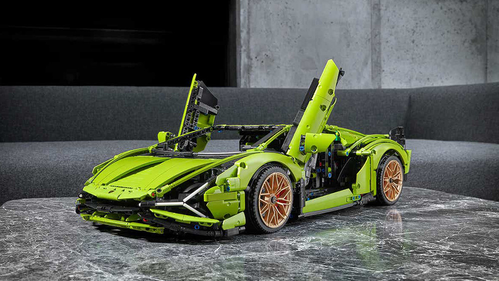 Lamborghini Sián gets a Lego Technic model