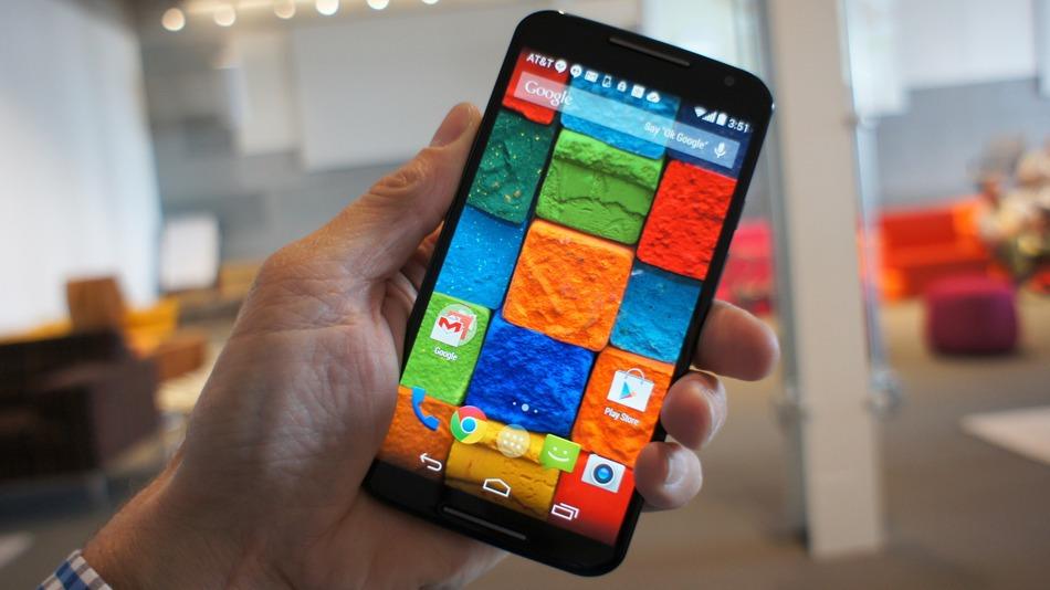 Motorola's Moto X second generation 2014