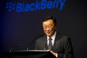 blackberry ceo jhon chen