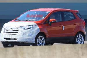 Revealed snaps of Ford EcoSport would leave your eyes wide-open