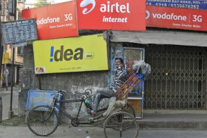 Bharti Airtel Idea Cellular and Vodafone