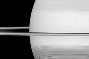 NASA: Cassini spacecraft looks toward the brilliant disk of Saturn, Hidden Wonders