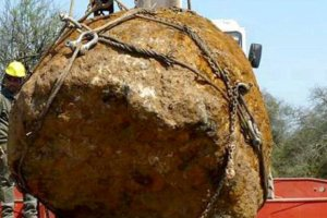 Scientists grub up 2nd largest meteor ever weighing 30, 800 kg in Argentina